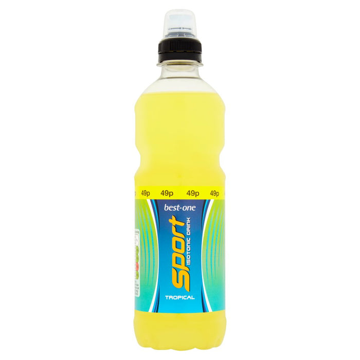 Best-One Sport Isotonic Drink Tropical, 500ml (Case of 12)