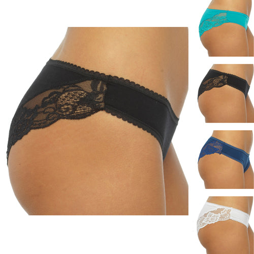 Ladies Brazilian Briefs (Pack of 5 Pairs)