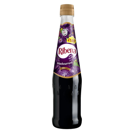 Ribena Blackcurrant, 600ml (Case of 6)