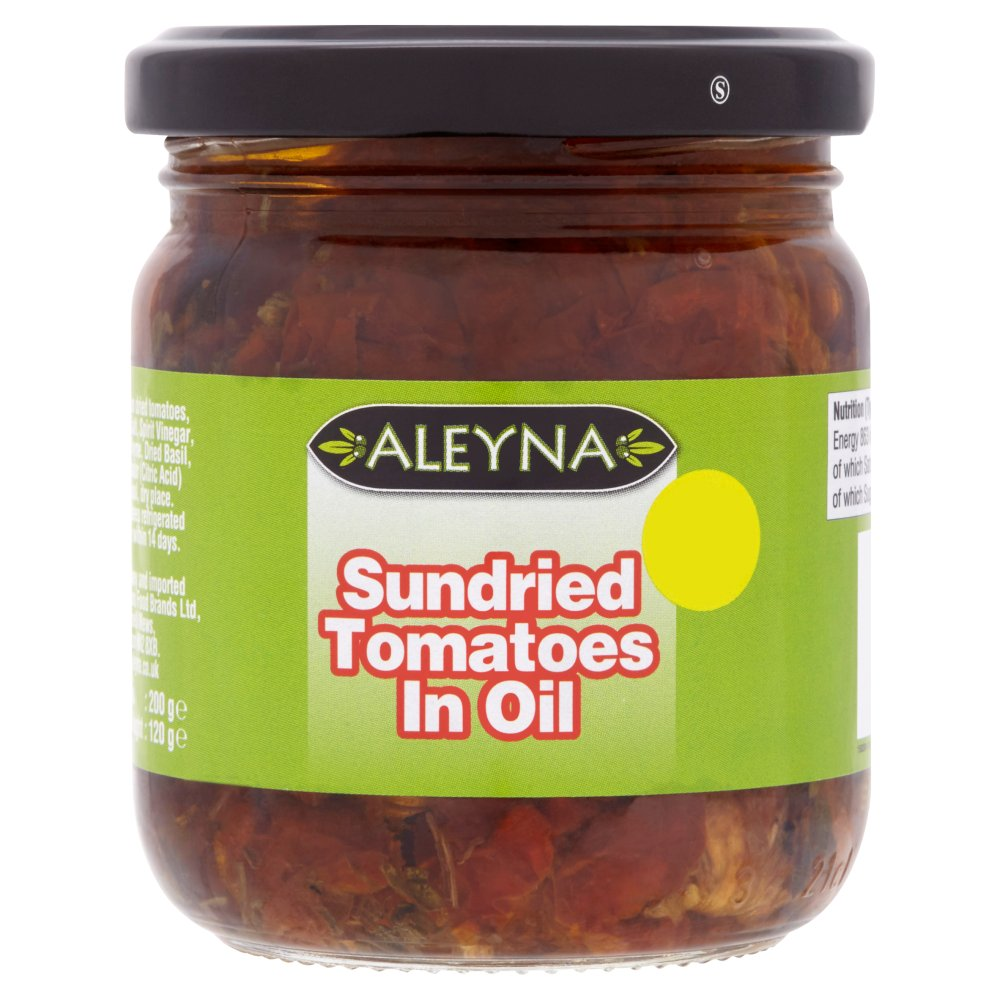 Aleyna Sundried Tomatoes in Oil, 200g (Case of 6)