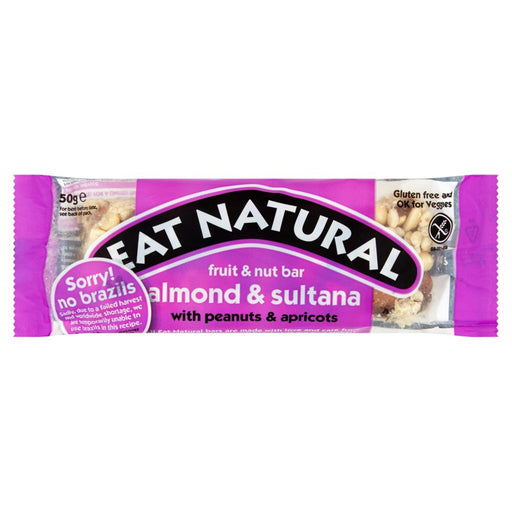 Eat Natural Brazils, sultanas, almonds, hazlenuts