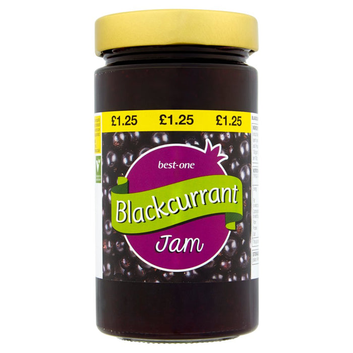 Best-One Blackcurrant Jam 454g