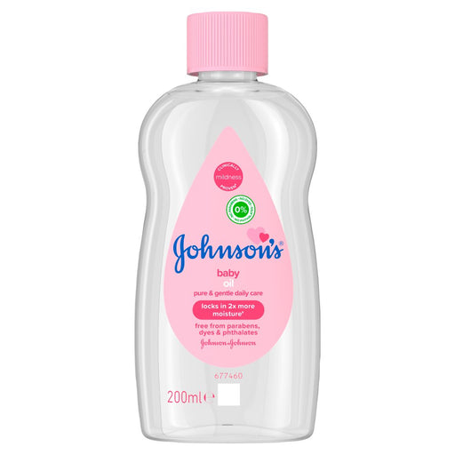 Johnson Baby Oil, 300ml