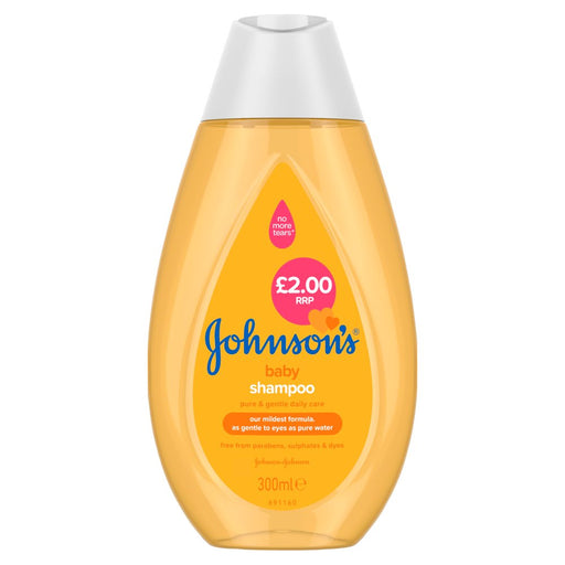 Johnsons Baby Shampoo, 300ml