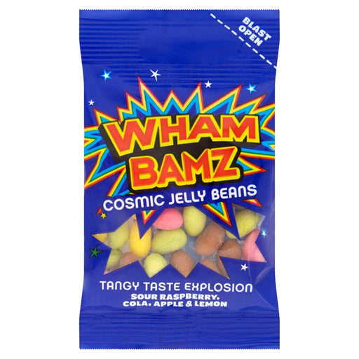 Wham Bamz Cosmic Jelly Beans, 38g (Box of 26 Packs)