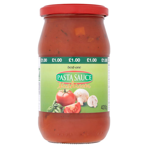 Case of 6 x Best-One Pasta Sauce Mushroom 420g