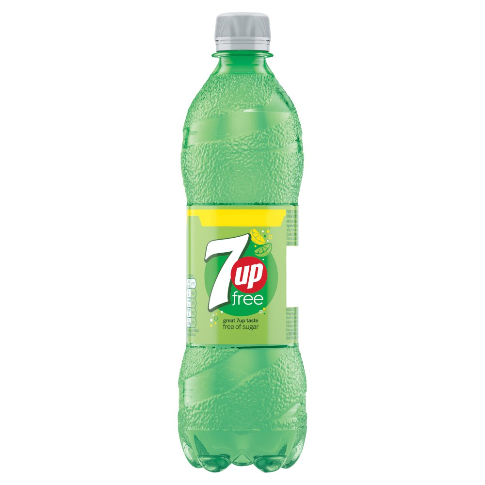 7Up Free, 500ml (Case of 12)