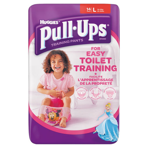 Pullups Girl Large Size 6
