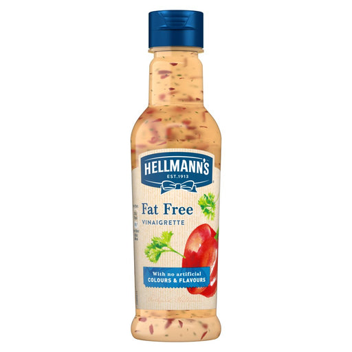 Hellmann's Fat Free Salad Dressing, 210ml (Pack of 8)