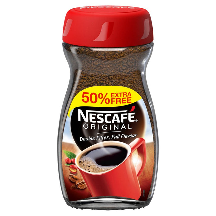 Nescafe Original Coffee Granules +50% Free