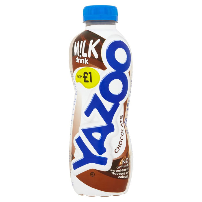 Yazoo Chocolate Milk Drink, 400ml (Pack of 10)
