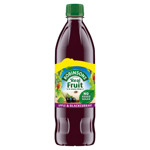 Robinsons Apple & Blackcurrant 900ml, No Added Sugar