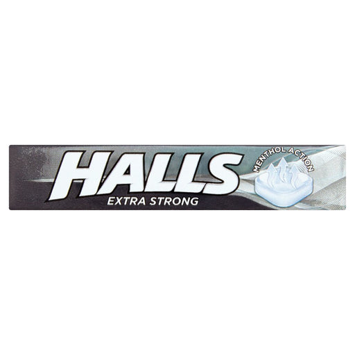 Halls Extra Strong Menthol Action Sweets, 33.5g (Box of 20)