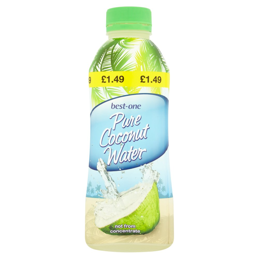 Best-One Pure Coconut Water, 600ml (Case of 6)