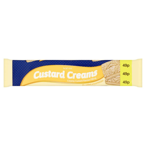 Best-One Custard Creams, 150g (Box of 12)