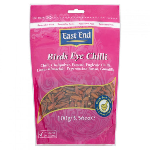East End Birds Eye Chilli 100g