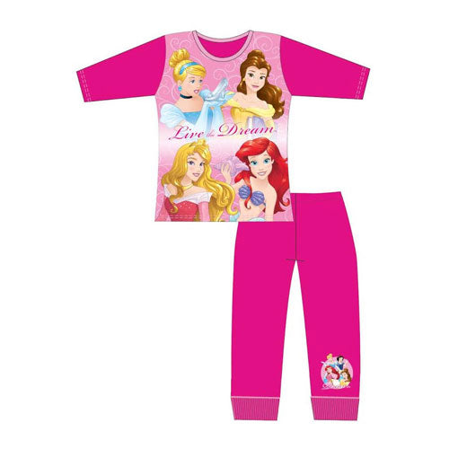 Older Girls Disney Princess Live Dream Pyjama Set