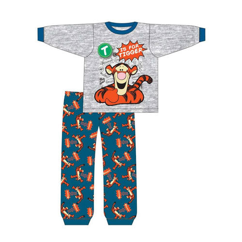 Baby Boys Tigger Snuggle Fit PJs