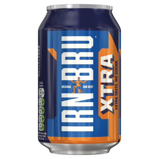 IRN-BRU Xtra 330ml, (Case of 24)
