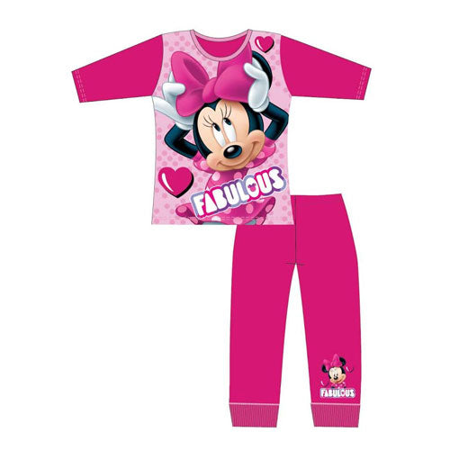Older Girls Minnie Mouse Fabulous Pyjama Set