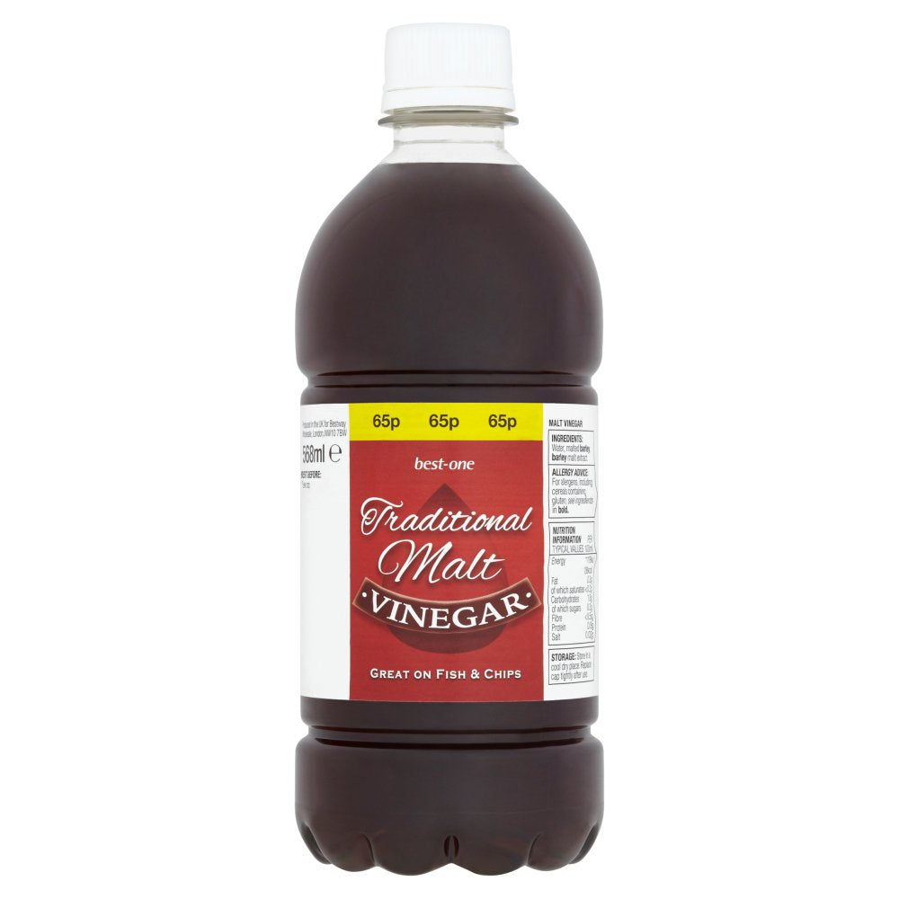 Best-One Traditional Malt Vinegar 568ml