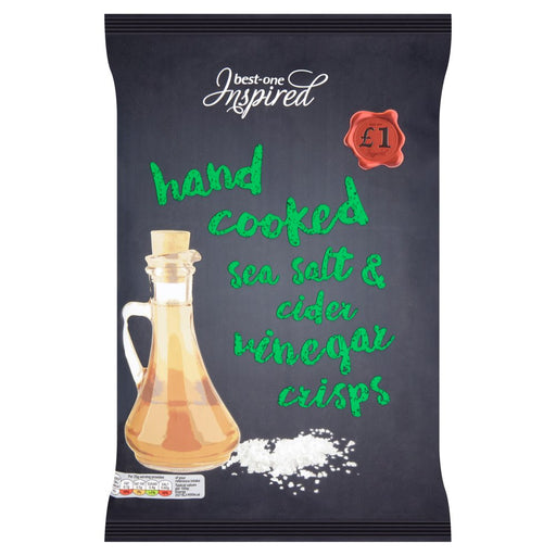 Best-One Inspired Hand Cooked Sea Salt & Cider Vinegar Crisps 150g