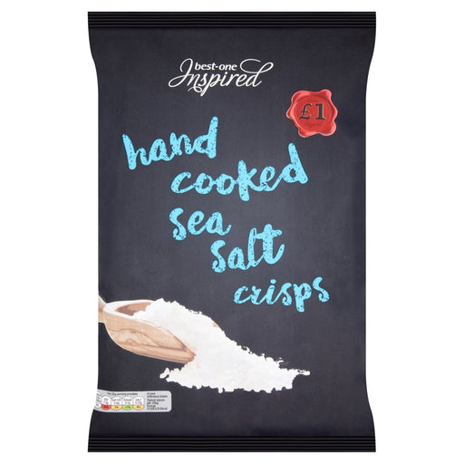 Best-One Inspired Hand Cooked Sea Salt Crisps, 150g