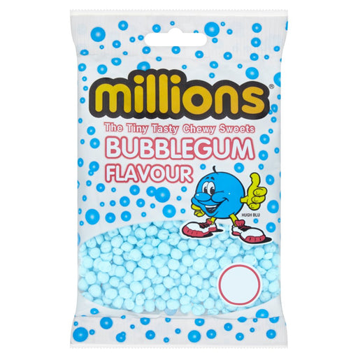 Millions Bubblegum Flavour 100g (Pack of 12)