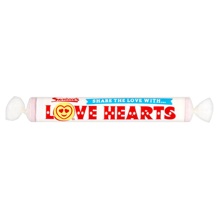 Swizzels Love Hearts, 39g (Pack of 24)