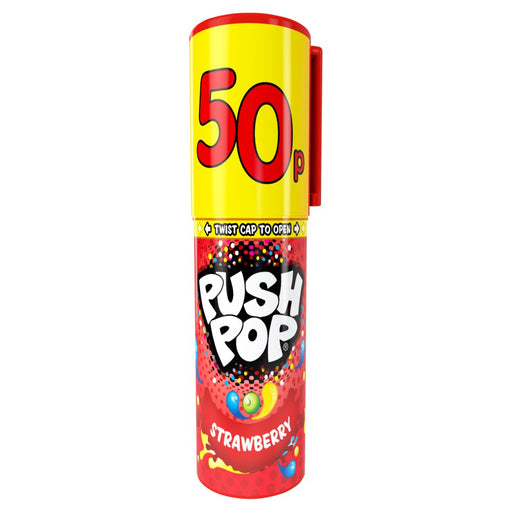 Push Pop Hard Candy, 15g (Pack of 20)
