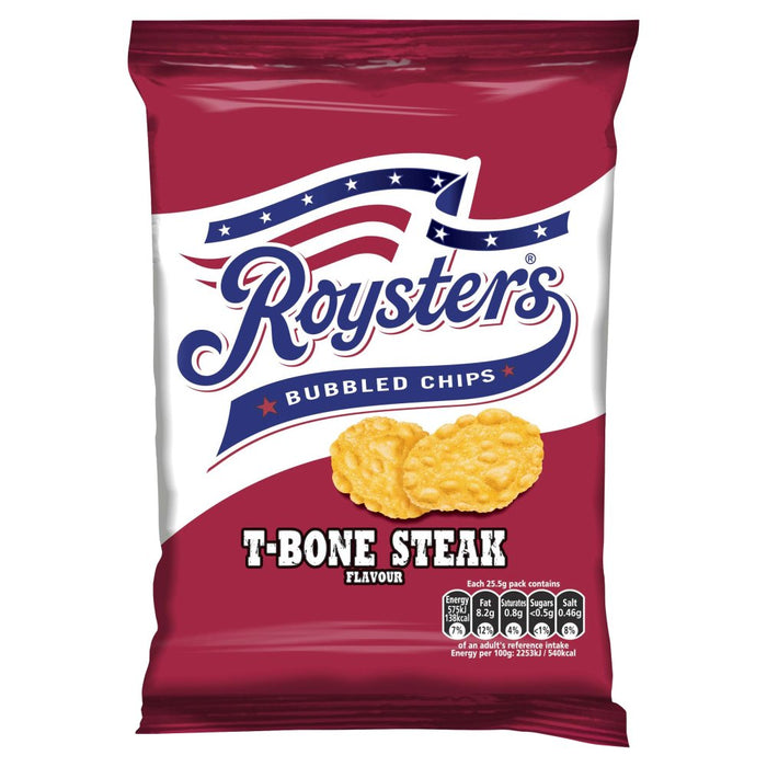 Roysters T-Bone Steak Flavour, 25.5g (Box of 28)
