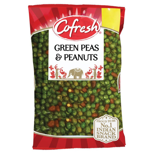 Cofresh Green Peas & Peanuts, 350g (Pack of 4)
