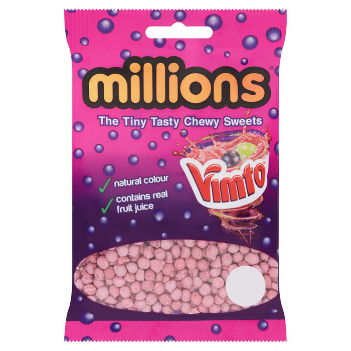 Millions Vimto Bags 85g (Pack of 12)