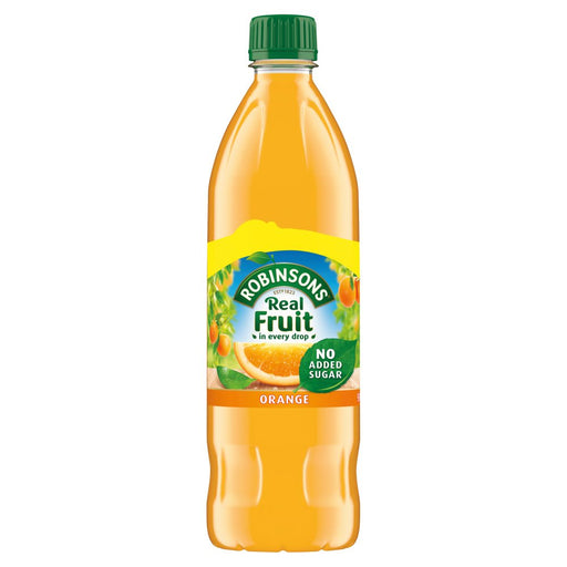 Robinsons Orange Squash 900ml, No Added Sugar