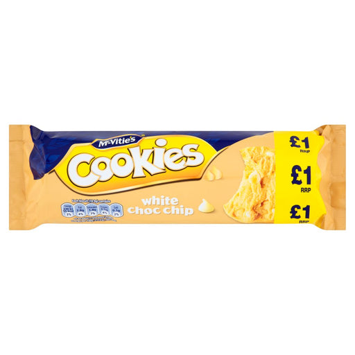 McVitie's Cookies White Choc Chip, 150g (Box of 12)