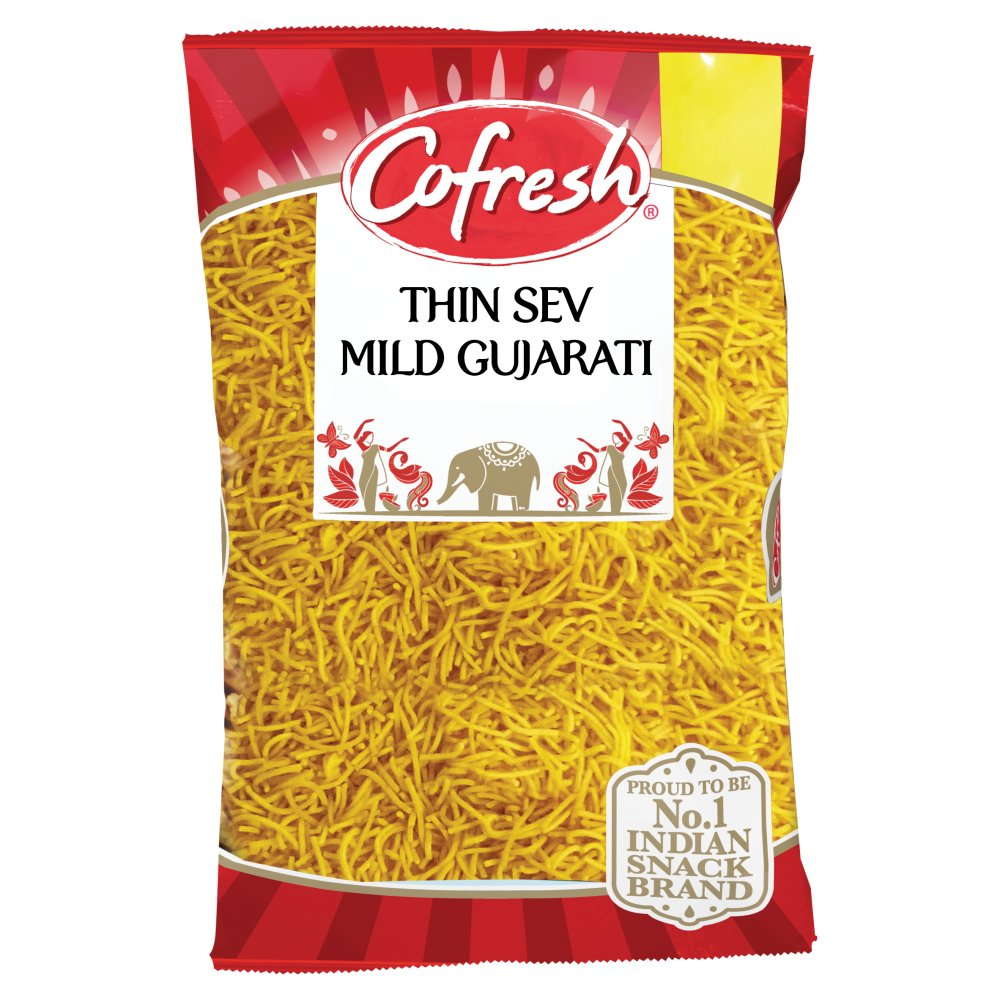 Cofresh Gujarati Thin Sev Spicy Orange, 300g