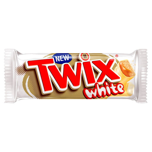 Twix White Chocolate Standard Bar 2 x 23g (Box of 20)