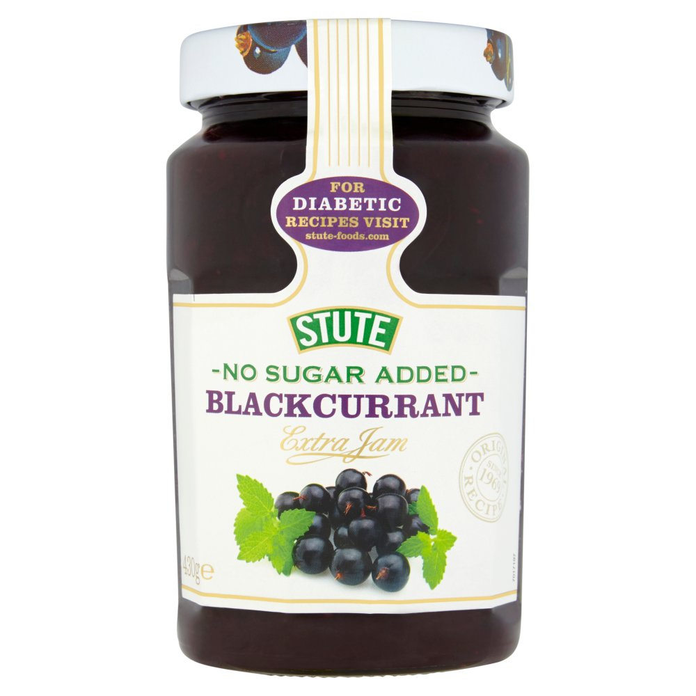 Stute Diabetic Jam Blackcurrant