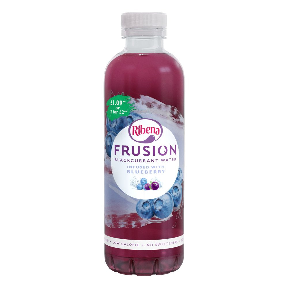 Ribena Frusion Blueberry, 420ml (Case of 12)