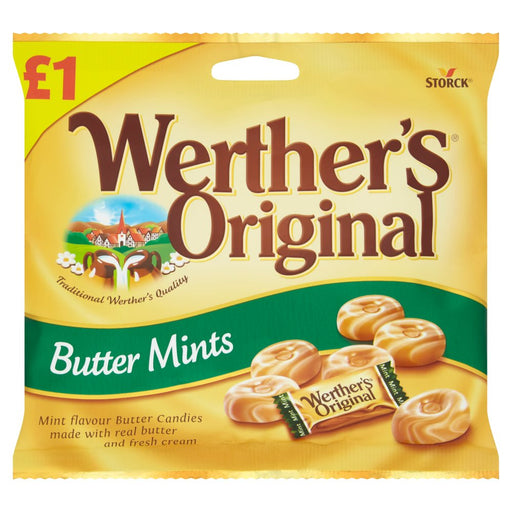 Werther's Original Butter Mints, 110g (Box of 12)
