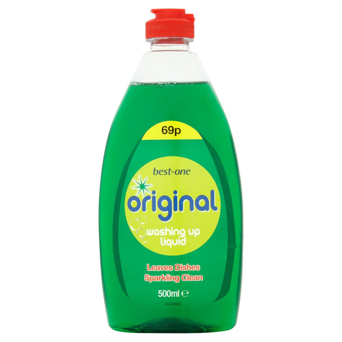 Best-One Original Washing Up Liquid, 500ml (Case of 12)