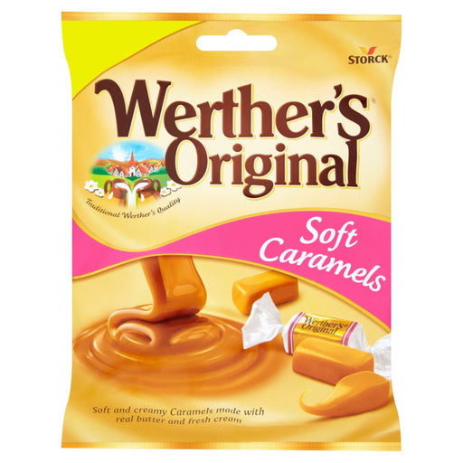 Werther's Original Soft Caramels, 110g (Box of 12)