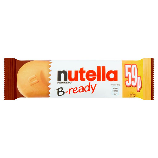 Nutella B-ready, 22g (Box of 36)