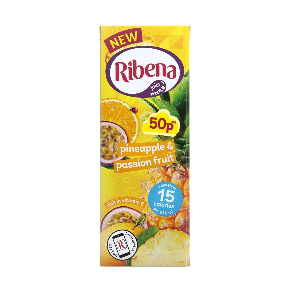 Ribena Pineapple & Passion Fruit