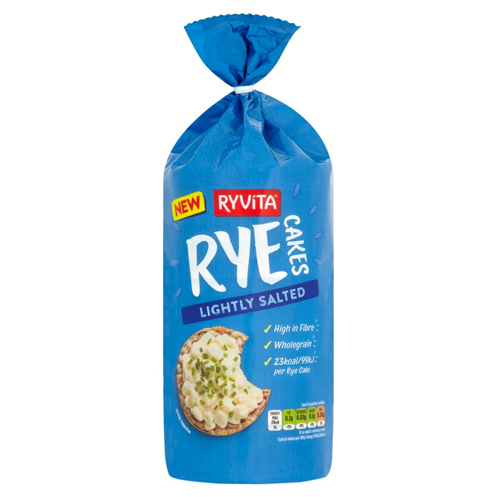 Ryvita Rye Cakes Lightly Salted 120g