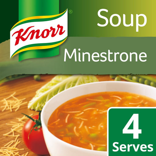 Knorr Minestrone Soup, 62g (Box of 9)