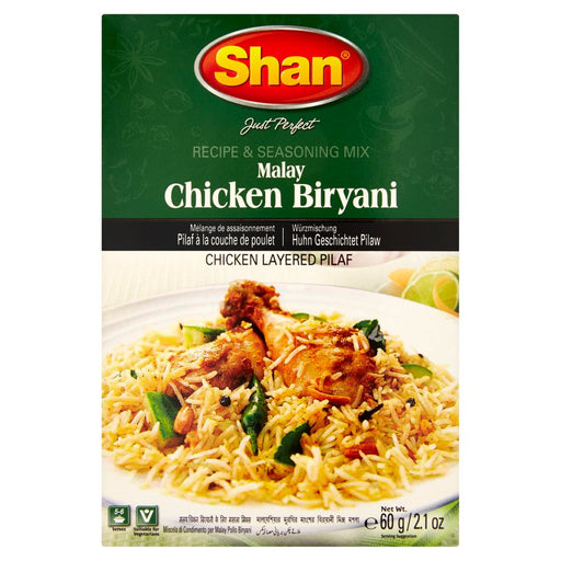 Shan Chicken Biryani Mix, 60g (Pack of 6)