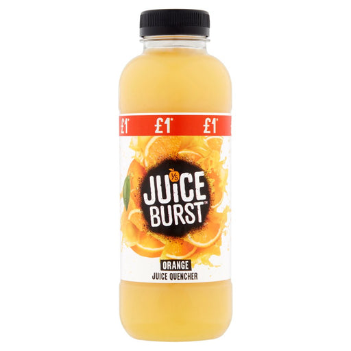 Juiceburst Orange Juice Quencher, 500ml (Pack of 12)