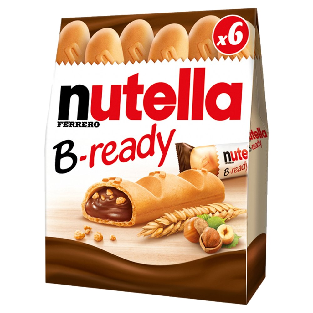 Nutella B-ready 6 Pack, 132g