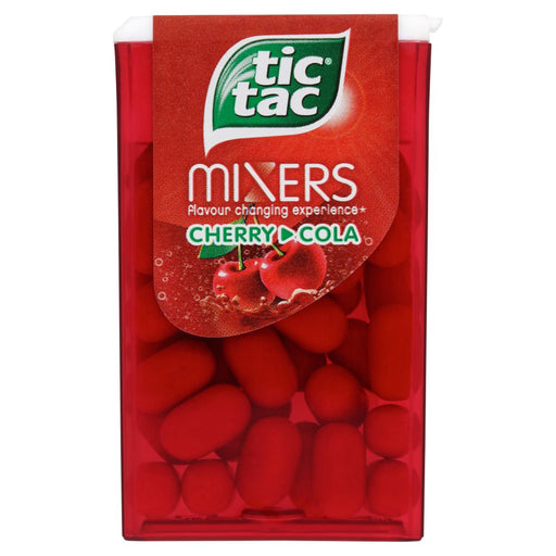 Tic Tac Mixers Cherry Cola, 18g (Box of 24)